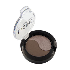 Eye Shadow Duo Dark Grey & Metallic
