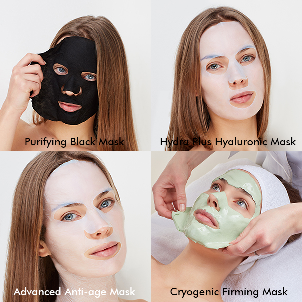 New collection beauty salon masks